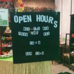These are the current store hours.  This was incorrect on the trip advisor site.