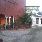 Entrance to Udupiwala Restaurant
