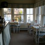 Breakfast porch!