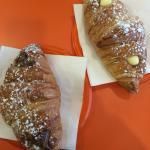 Croissant nocciola e crema