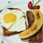 A Vegetarian (vegan) Breakfast option