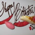 Sweet at dinner, making it special