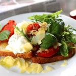 Playfair's Bruschetta breakfast.  As flavorful as it looks!
