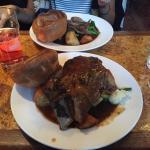 Sunday roast.  Yummy