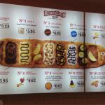 Beavertails menu