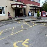 Disabled Parking and Entrance