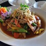 Thai Salmon w/Ginger Sauce and Jasmine Rice