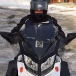 all new snowmobiles in excellent condition