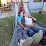Love that hammock!
