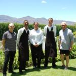 The lovely Light House team - Darrol, Quentino, Anneline, Barry and Hendrik (from left to right)