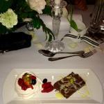 Desert of our wedding menu