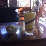 pineapple smoothie!