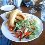 Battered whiting