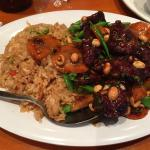 Kung Pao Mongolian Beef with