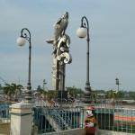 Chau Doc Riverfront Promenade