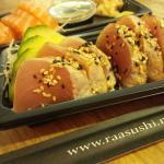 Seared Tuna & Fresh Salmon