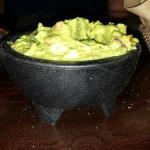A vat of yummy guac.