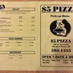 front of take out menu (1/25/2015)