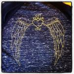 back side of our t shirt