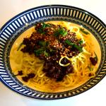 Spicy Mince on Noodles