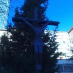 Cristo de los Raíles.
