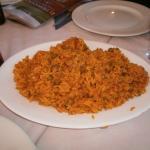 Tapa de arroz mientras esperas la comida