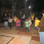 Childrens enjoying games organized by Hotel