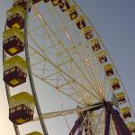 The Beach House, Geelong - January 2015. Close up of the nearby Ferris Wheel.