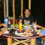 comida entre amigos