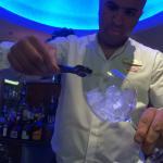 Karim the Cocktail master (Lobby bar)