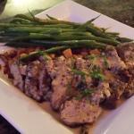 Dijon Pork Tenderloin with Yukon Potato Hash
