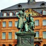 Grimm Brothers Statue