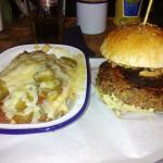 Meat 59 burger & dirty fries