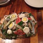 Unique and delicious salad