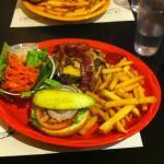 Sophie's Cosmic Workout Burger