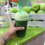 My daily dose of green juice!