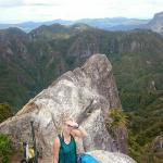 On the pinnacles