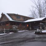The Inn after a snow