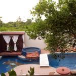 Baño sauna y piscina