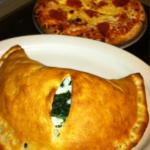 Spinach and Feta Calzone...YUM!