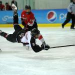 U15 hockey game in Abu Dhabi Ice Rink taken by Fatima Al Ali