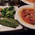 Split the Chilean Sea Bass and Cioppino with a friend. Couldn't go wrong, but the Cioppino wins!