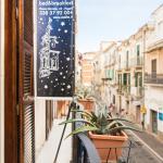 La vista su Via Arpi, il cuore del centro storico