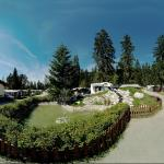 Camping Olympia im Sommer