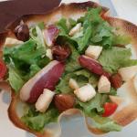 Tres bonne salade aux marrons