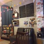 Love the cozy corner!