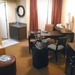 Corner room - very spacious!