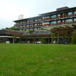 Das Hauptgebäude von Aussen