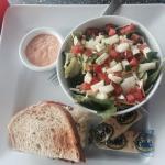 Combo - Rueben and Garden Salad