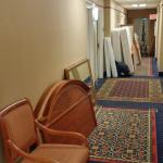 Fire hazard to block hallways and my door!